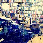 Drumset in Ben's Studio