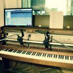 Upright Piano in Ben Seipel's studio